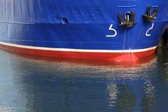 Boat Close-up. Close-up of fishing traweler boat Royalty Free Stock Photo