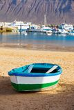 Boat on the coast. Stock Photos