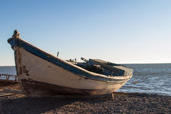 Boat at the Coast Royalty Free Stock Photo