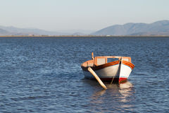 Boat at the Coast Royalty Free Stock Images