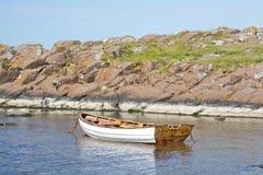 Boat and coast Stock Photos