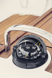 Boat compass Royalty Free Stock Photo