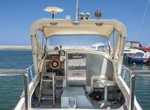 Boat Controls royalty free stock image