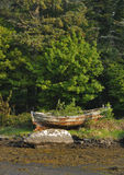 Boat by Cove Harbour Stock Photography
