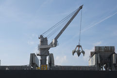 Boat crane Stock Images