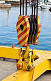 Boat crane Stock Images