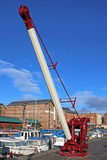 Boat Crane. In Gloucester Docks Royalty Free Stock Image