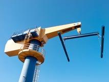 Boat crane Stock Photo