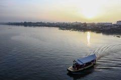 Chaophraya River Ferry Nonthabur stock photos