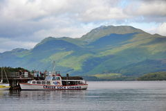 Boat cruise on Loch Lomond, Scotland, United Kingdom Royalty Free Stock Photo