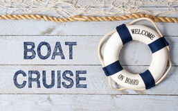 Boat Cruise - Welcome on Board Royalty Free Stock Images