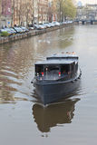 Boat cruises in Amsterdam Stock Image