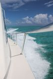 Boat Cruising royalty free stock image