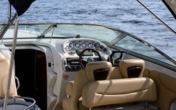 Boat dashboard Stock Images