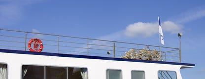 Boat deck Stock Photo