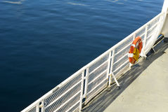 Boat Deck Stock Image
