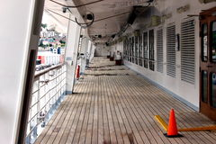 Boat deck Stock Images