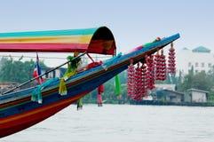 Boat deco. Bangkok's Boat stock photos