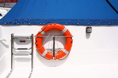 Boat detail. Boat stern detail Royalty Free Stock Photography