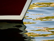 Boat detail with ripples Stock Photography