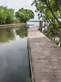 Boat dock Royalty Free Stock Photo
