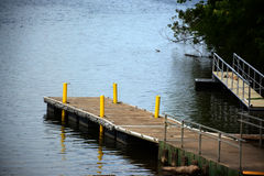 Boat dock Stock Images