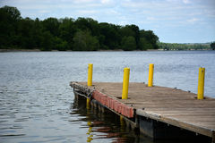 Boat dock royalty free stock images