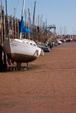 Boat Dock in Oklahoma City Royalty Free Stock Images