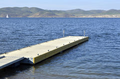 Boat dock. Royalty Free Stock Images