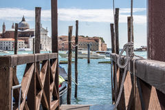 Boat dock in Venice Royalty Free Stock Image