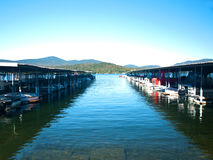 Boat docks Royalty Free Stock Photo