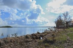 Free Boat Docks And Ramps Destroyed By Hurricane Irma Royalty Free Stock Photos - 102726198