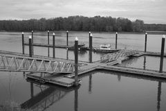 Boat Docks Royalty Free Stock Photos