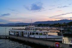 Boat docks Royalty Free Stock Photos