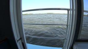 Boat Door Opens stock video