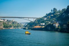 Boat in Douro Royalty Free Stock Image