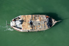 Boat on Dubai Creek in Deira Royalty Free Stock Images