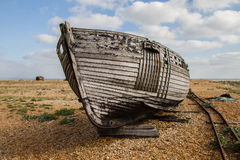 Boat at Dungerness Stock Photography