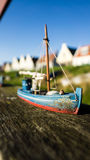 Boat in Durgerdam Royalty Free Stock Images