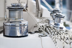 Boat equipment royalty free stock photography