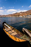 Boat. Erhai lake Yunnan China maybe a good day Stock Photography