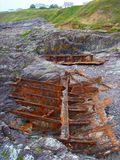 Boat Erosion Royalty Free Stock Photos