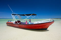 Boat excursion Royalty Free Stock Images