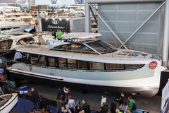 Boat exhibition 2015 in Duesseldorf, Germany Royalty Free Stock Photography