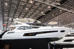 Boat exhibition 2015 in Duesseldorf, Germany Stock Images