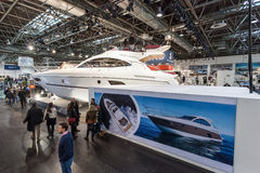 Boat exhibition 2015 in Duesseldorf, Germany Stock Image