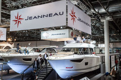 Boat exhibition 2015 in Duesseldorf, Germany. Boat Duesseldorf 2015 - the worlds biggest yachting and water sports exhibition. January 25, 2015 in Duesseldorf Royalty Free Stock Images
