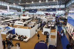 Boat exhibition 2015 in Duesseldorf, Germany Royalty Free Stock Photo