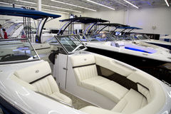 Boat expo in City Dallas Texas Royalty Free Stock Photos