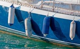 Boat fenders Stock Image